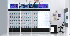 Thiết kế cửa hàng điện thoại di động - Gia Bình - Bắc Ninh